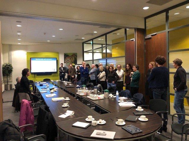 Bijeenkomst Houten 2018 Werkatelier Monitor Sociale Kracht U10 regio